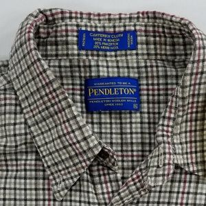 Pendleton Canterbury Cloth Button down shirt